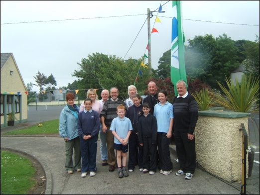 Myshall National School, Green Flag